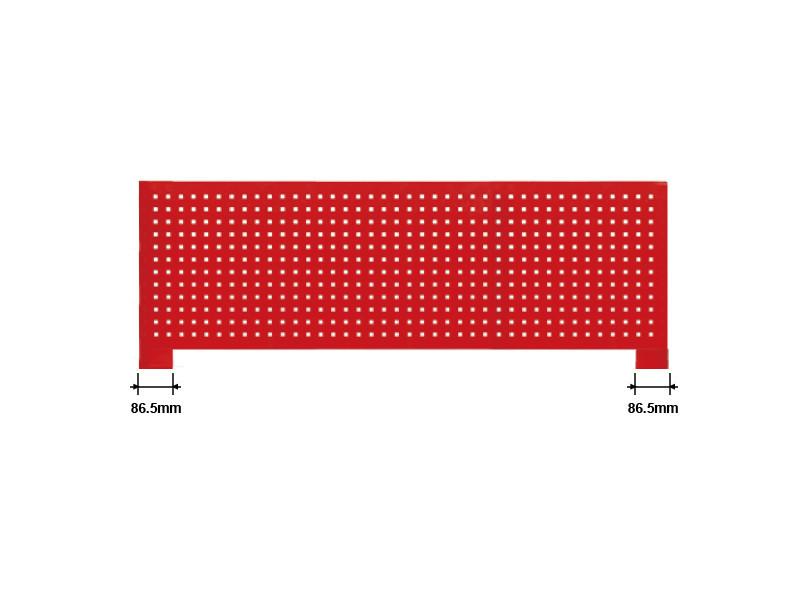 Деталь верстака (задняя панель)