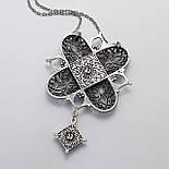 Кулон Никея серебро (бирюза), фото 2