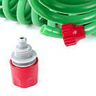 Шланг для полива спиральный 7,5 м с конекторами INTERTOOL GE-4001, фото 4