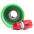 Шланг для полива спиральный 7,5 м с конекторами INTERTOOL GE-4001, фото 6