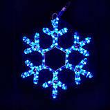 Уличная Гирлянда LED Снежинка 40 см, фото 4