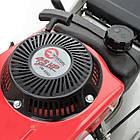 Газонокосилка бензиновая 4,5 HP; 3,4 кВт; ширина среза 460 мм INTERTOOL LM-4545, фото 4