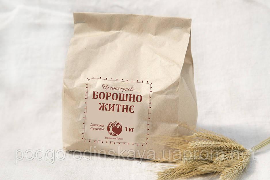 Мука ржаная цельнозерновая, 1 кг