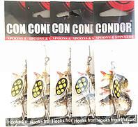 Блесна-вертушка Кондор, цвет 120, 5гр, фото 1