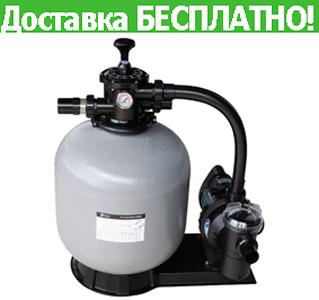 Фильтрационная установка для бассейна EMAUX FSF500 (11,1 м3/час, 85 кг песка)