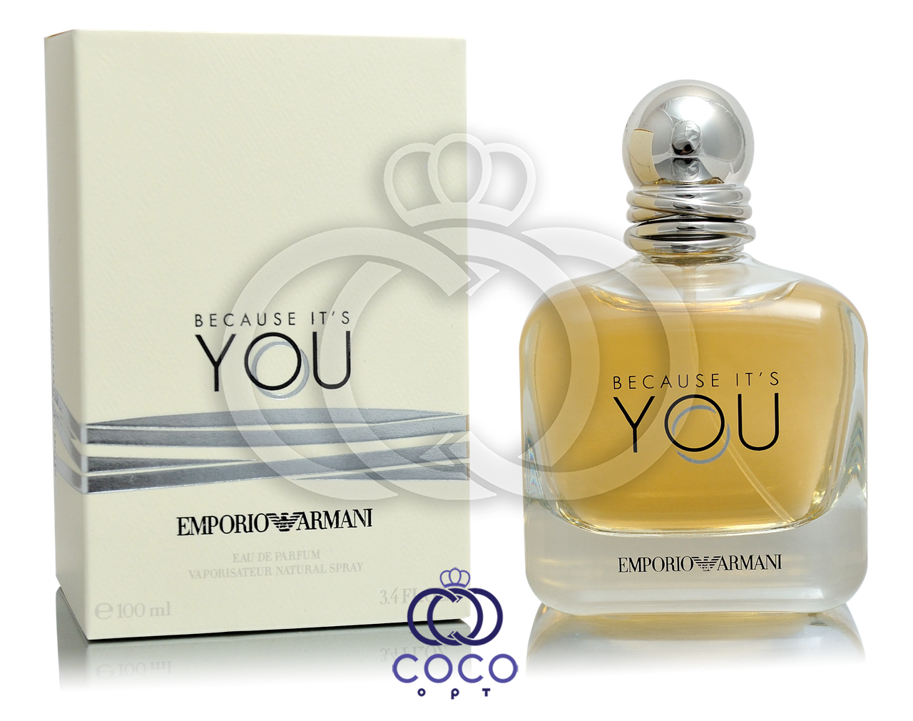 Парфюмированная вода Giorgio Armani Emporio Armani Because It's You