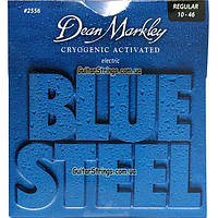Струны Dean Markley 2556 Blue Steel Regular 10-46