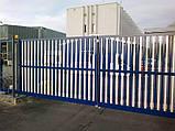 Відкатні ворота Alutech 3000x2460, фото 7