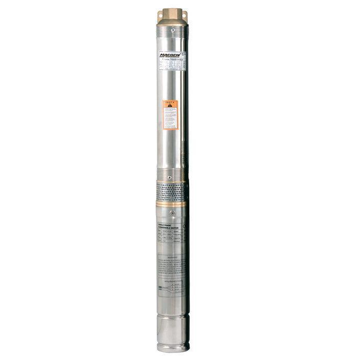 Скважинный насос Насосы + 75QJD130-0.75 + пульт