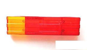 Стекло фонаря (заднего) MB 609-814D (красное)
