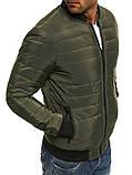Чоловіча куртка. Чоловічий бомбер., фото 5