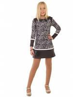 Платье на девочку Светлана 134 р серое., фото 1
