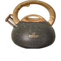 Чайник со свистком на 3л Bohmann BH-9935