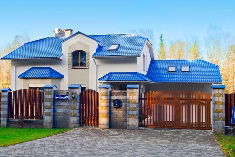 Откатные ворота Alutech 3250x2210