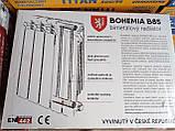 Радиатор биметаллический Bohemia B85,Богемия 500/85, Чехия, фото 2