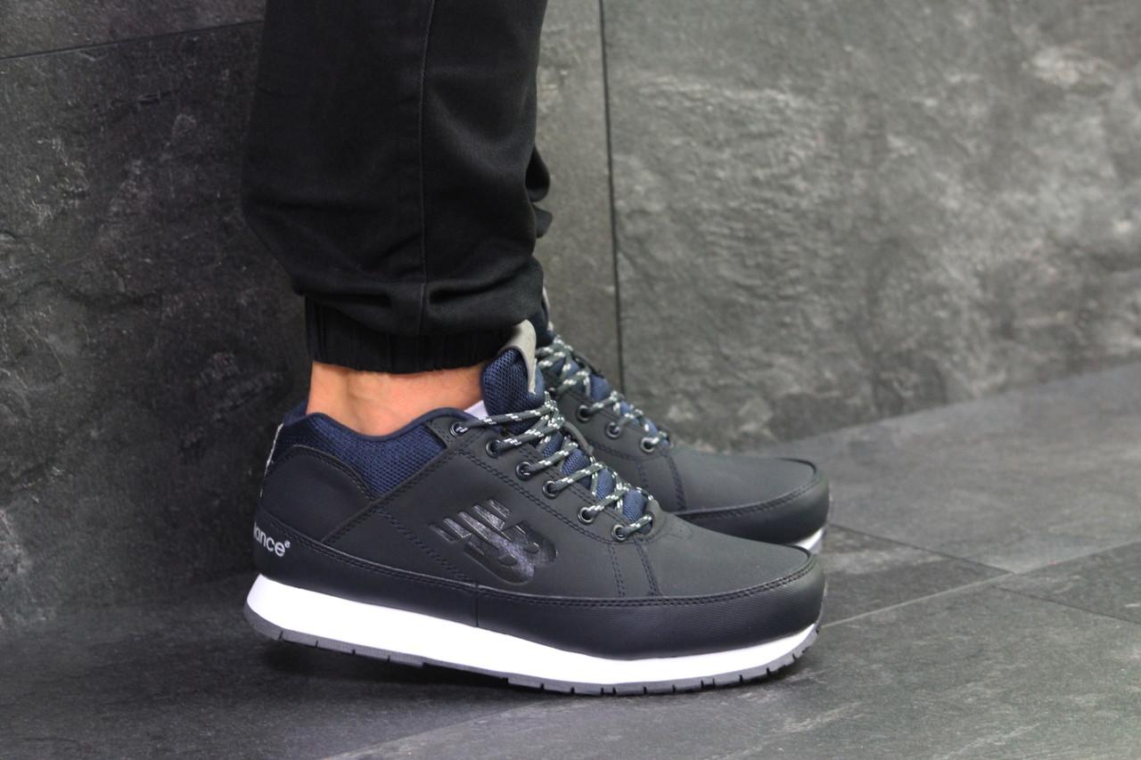 5e07545867f4 Мужские кроссовки New Balance 754, с мехом, темно-синие (Реплика ...