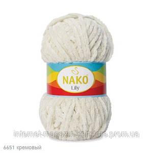 Пряжа Nako Lily Кремовый