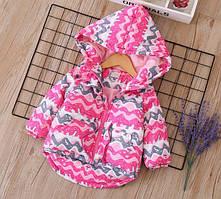 Куртка Зима (малина) 150