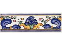 GARDENIA CENEFA 620 CB IRIS плитка фриз 6,5*20