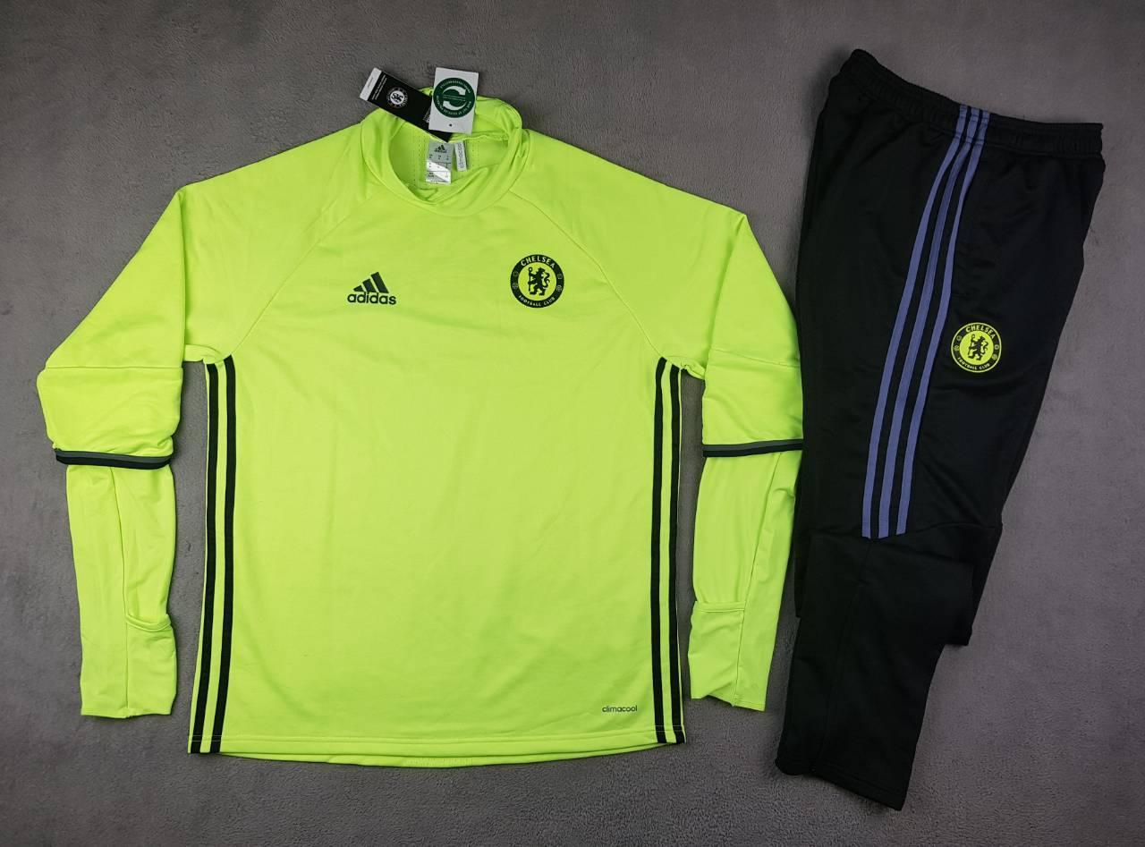 5b5dd65c Мужской тренировочный костюм Челси, салатовый, XL, цена 1 099 грн ...