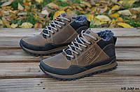 Зимние мужские кроссовки New balance , натуральная кожа