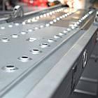 Лестница алюминиевая мультифункциональная трансформер 4x4 ступ. 4,62 м INTERTOOL LT-0029, фото 4