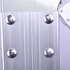 Лестница алюминиевая мультифункциональная трансформер 4x4 ступ. 4,62 м INTERTOOL LT-0029, фото 5