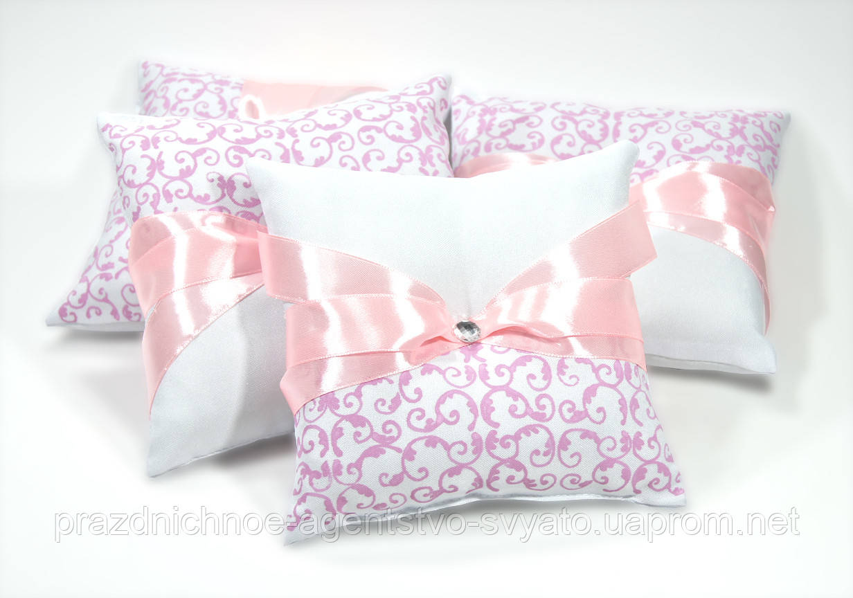 Подушечки для колец (розовая)