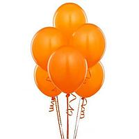 Воздушные шары оранжевые 26 см (декор на Хэллоуин)