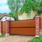 Відкатні ворота Alutech 3500x2210, фото 2