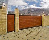 Откатные ворота Alutech 3500x2210 , фото 7