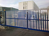 Откатные ворота Alutech 3500x2210 , фото 8