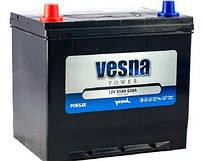 Аккумулятор автомобильный 6СТ-65Ач. 650 VESNA Japan Euro