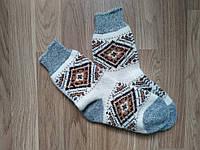 Шерстяные носки, теплые вязаные носочки, женские зимние носки, фото 1