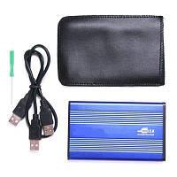 """USB карман SATA 2.5"""" металл , чехол"""