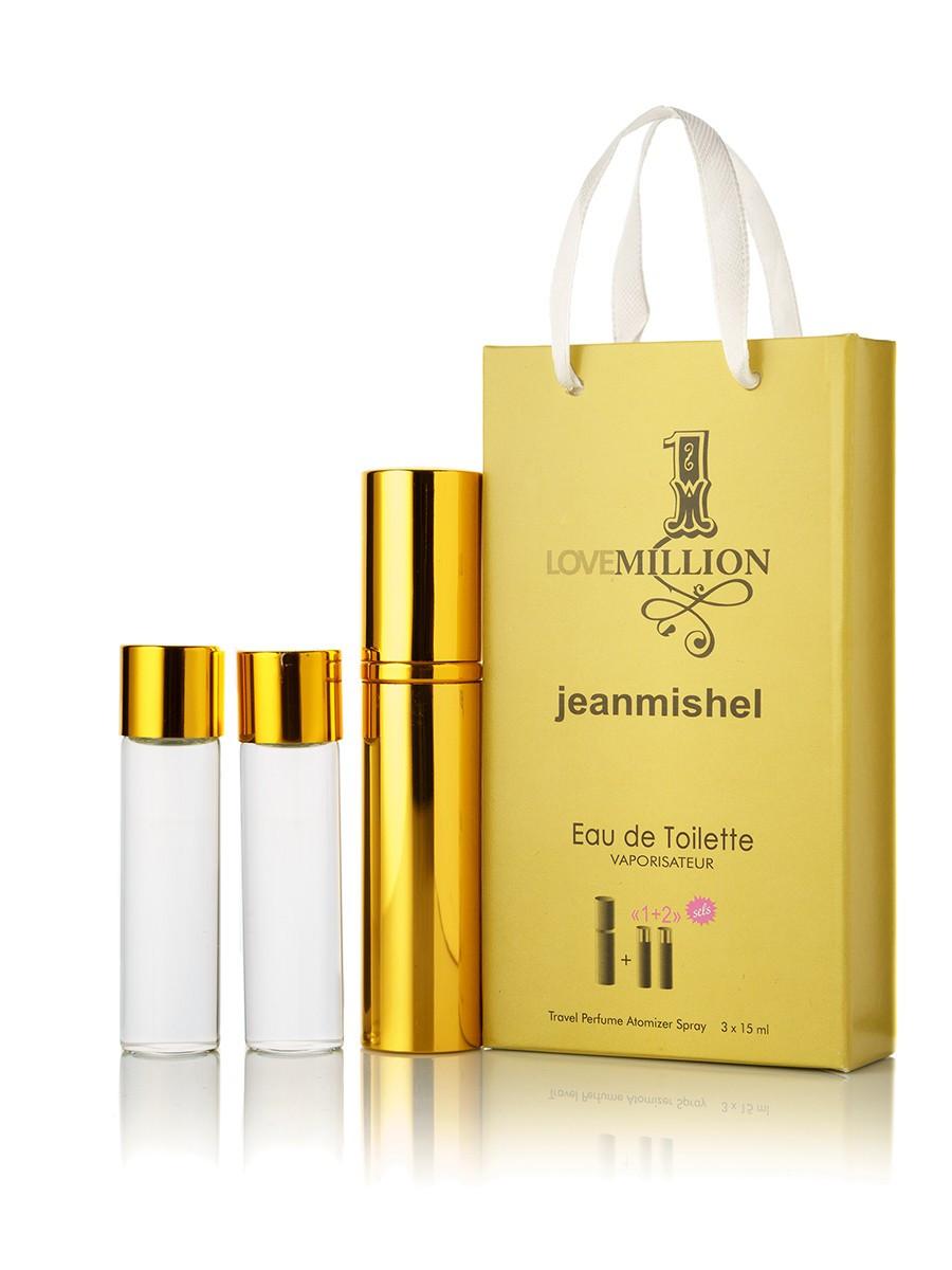 3 по 15 мл Мини-парфюм Jeanmishel Love 1 Million (м) 66