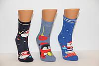 Махровые женские новогодние носки JNLEP