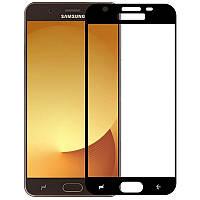 Защитное стекло Mocolo для Samsung Galaxy J7 (2018) Full Cover Black (0.33 мм)