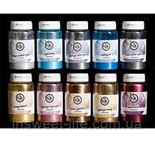 Харчовий барвник порошкоподібний люстрин FRACTAL 25 г(150мл) /упаковка