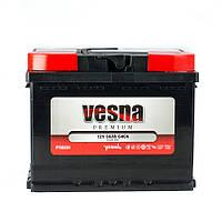 Аккумулятор автомобильный 6СТ -  66Ач. 640A. VESNA Premium Euro