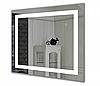 Зеркало с подсветкой Зеркало Led 50х80, настенное зеркало Сomfort Led-03 гримерное в ванную комнат