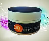 (Распродажа)Ночной крем Cien night cream Q10 для лица 0,050 мл