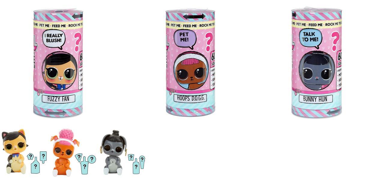Кукла Лол LOL Настоящий любимец сюрприз L.O.L. Surprise Interactive Live Toy 555377