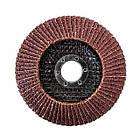 Диск шлифовальный лепестковый 115x22 мм, зерно K36 INTERTOOL BT-0103, фото 2