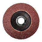 Диск шлифовальный лепестковый 125x22 мм, зерно K40 INTERTOOL BT-0204, фото 2