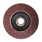 Диск шлифовальный лепестковый 125x22мм, зерно K60 INTERTOOL BT-0206, фото 2