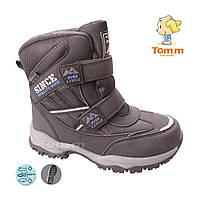 0a73f8752 Зимние ботинки дутики водонепроницаемые на мальчика подросток размеры 34-39  Tom.M
