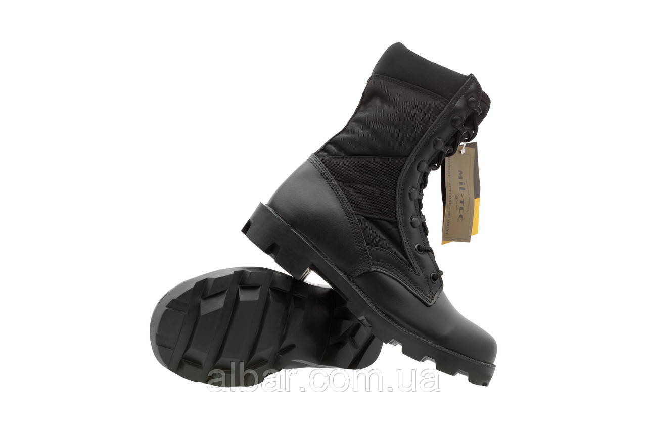 f896961f Армейские берцы Mil-tec Us Black Cordura Jangle Boots. - Интернет магазин