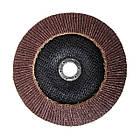 Диск шлифовальный лепестковый 180x22 мм, зерно K60 INTERTOOL BT-0226, фото 2
