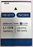 Аккумулятор (батарея) Nomi i5010, NB 5010